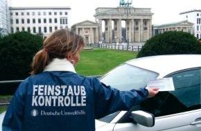 """Deutsche Umwelthilfe e.V.: """"Feinstaub-Teams"""" der Deutschen Umwelthilfe kontrollieren ab 2. Januar 2008 Fahrverbote in Berlin, Köln und Hannover"""