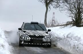 Skoda Auto Deutschland GmbH: Der neue SKODA Fabia R 5 begeistert auch Rallye-Routinier Jan Kopecky