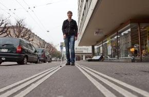Schweiz. Zentralverein für das Blindenwesen SZB: Internationaler Tag des Weissen Stockes 15. Oktober 2009: Hindernisfrei durch die Stadt