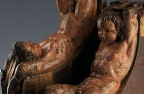 Art Research MT GmbH: Bisher unbekanntes Skulpturenpaar von Michelangelo Buonarroti wurde der Weltöffentlichkeit vorgestellt