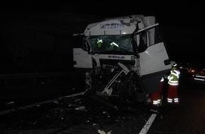 Polizeiinspektion Hildesheim: POL-HI: Schwerer Unfall auf der A 7 bei Hildesheim