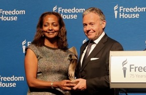 Axel Springer SE: Axel Springer mit Corporate Leadership Award von Freedom House ausgezeichnet