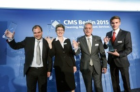 Messe Berlin GmbH: CMS Purus Award 2015 verliehen