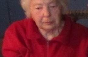 Polizeipräsidium Mainz: POL-PPMZ: Mainz, 90-Jährige vermisst