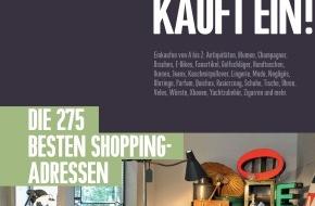 ZÜRICH KAUFT EIN!: Das neue ZÜRICH KAUFT EIN! 2013 / Die 275 besten Shopping-Adressen der Stadt Zürich. Auf 236 Seiten
