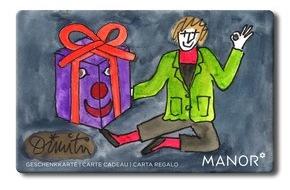 Manor AG: Offrez deux fois du bonheur: Manor pour la Fondation Dimitri
