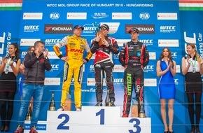 MOL Group: WTCC Rennen in Ungarn 2015: Norbert Michelisz holt sich den Heimsieg