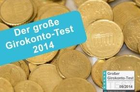 franke-media.net: Girokonto-Test 2014: Es geht auch günstig (FOTO)