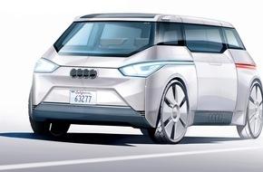 "AUTO BILD: AUTO BILD: Audi präsentiert vollautonomes Modell ""City"" auf dem Pariser Salon"