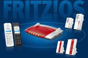 AVM GmbH: Geschenke fürs Heimnetz - Neue FRITZ!-Upgrades für DECT-Telefone, WLAN-Repeater und Powerline