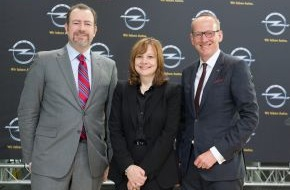 Adam Opel AG: Neue GM CEO Mary Barra besucht Opel in Rüsselsheim