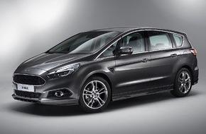 Ford-Werke GmbH: Verkaufsstart für den neuen Ford S-MAX: Zweite Generation des Sportvans ist ab sofort bestellbar