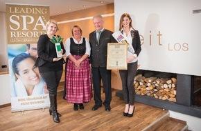 Leading Wellness, Spa & Beauty Resorts*****: SCHÜLE�S Gesundheitsresort & Spa gewinnt den Leading Spa Award 2014