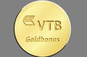 VTB Direktbank: VTB Medaillen-Festgeld mit Goldbonus / 3,6 Prozent p.a. für 4 Jahre plus 0,01 Prozent p.a. Goldbonus für jede gewonnene Goldmedaille der deutschen Mannschaft bei den Olympischen Spielen in London 2012