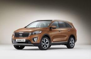 KIA Motors Deutschland GmbH: Kia präsentiert neuen Sorento*