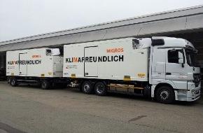 Migros-Genossenschafts-Bund: Migros startet Projekt für ökologischeren Transport