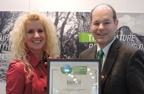 Green Brands: lavera NATURKOSMETIK erneut als GREEN BRAND bestätigt