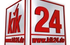KiK Textilien und Non-Food GmbH: www.kik24.de - KiK eröffnet Online-Shop und erschließt neuen Vertriebskanal