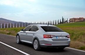 Skoda Auto Deutschland GmbH: Top-Sicherheit: Neuer SKODA Superb erzielt Bestwertung von fünf Sternen im Euro NCAP Crashtest