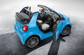 Mercedes-Benz Schweiz AG: smart fortwo cabrio BRABUS edition, BRABUS Sport-Paket - Die Neuheiten von smart auf dem Genfer Salon 2016