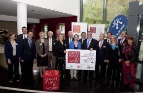 Great Place to Work® Institut Deutschland: Beste Arbeitgeber aus Niedersachsen und aus Bremen ausgezeichnet - Preisverleihung im Haus der Region Hannover (FOTO)