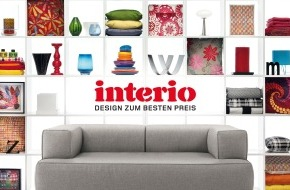 Interio AG: Interio Hauptkatalog 2009: Ab August in allen Filialen