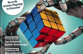 Gruner+Jahr, P.M. Magazin: Gläserne Container: Schlaue Sensoren erhöhen Containersicherheit