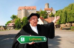 """Leipzig Tourismus und Marketing GmbH: Neue touristische Attraktion: Der """"Lutherweg in Sachsen"""" wird am 27. Mai 2015 in Döbeln eröffnet"""