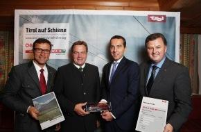 Tirol Werbung: Tirol auf Schiene