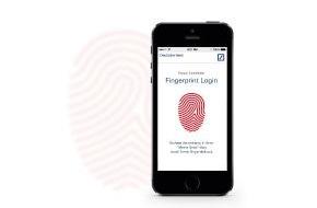 Deutsche Bank AG: Einfach, schnell, sicher: Deutsche Bank bietet ihren Kunden Online-Zugang mit Fingerabdruck und Banking mit photoTAN