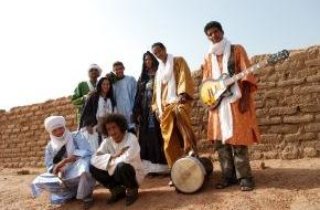 ZDFkultur: Der Blues der Wüste / ZDFkultur zeigt Dokumentarfilm über junge Tuareg-Band aus Mali