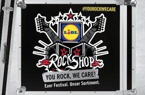 LIDL: You rock, we care / Lidl RockShop reloaded: In diesem Jahr auf Deutschlands größtem Rockfestival (FOTO)