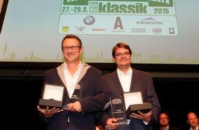 AUTO BILD: 8. Hamburg-Berlin-Klassik 2015: Glanzvoller Abend der Gewinner in Hamburg