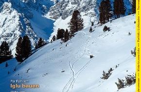 Wandermagazin SCHWEIZ: Wandermagazin SCHWEIZ: Die schönsten Schneeschuhtouren (BILD)