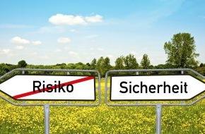 """CosmosDirekt: forsa-Studie """"Arbeit, Familie, Rente - was den Deutschen Sicherheit gibt"""": Sicherheit geht vor: 87 Prozent der Deutschen setzen bei der Altersvorsorge vor allem auf Garantien"""