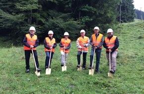 BKW Energie AG: Baubeginn für das Wasserkraftwerk Spiggebach im Kiental