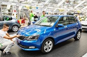 Skoda Auto Deutschland GmbH: SKODA im November auf Rekordkurs - Gesamtjahr 2014 mehr als 1 Million produzierte und verkaufte SKODA Automobile