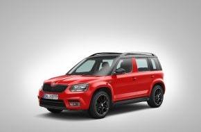 Skoda Auto Deutschland GmbH: Bestellstart für sportliches Sondermodell SKODA Yeti Monte Carlo