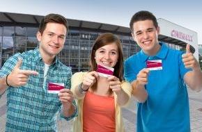 CinemaxX Holdings GmbH: Neu: Das CinemaxX 5er-Ferienticket für Schüler / Die perfekte Belohnung zum Schuljahresende und das wohl erste Zeugnisgeschenk zum Sitzenbleiben!