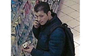 Polizeipräsidium Hamm: POL-HAM: Öffentlichkeitsfahndung nach einem Ladendiebstahl