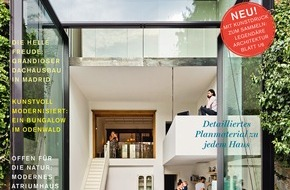 Gruner+Jahr, HÄUSER: Spektakuläre Häuser: Deutschlands Premium-Architektur-Magazin HÄUSER sucht für den HÄUSER-AWARD 2017 die besten Einfamilienhäuser