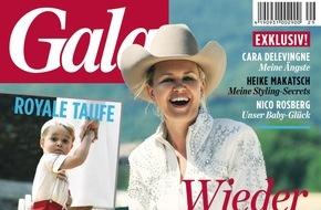 """Gruner+Jahr, Gala: Cara Delevingne: """"Mein Vater hat mir emotionale Fesseln angelegt"""""""