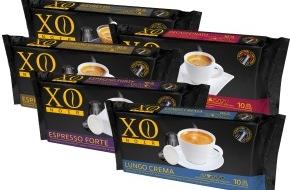 Manor AG: Les capsules de café XO Noir pour machines Nespresso®* en exclusivité chez Manor