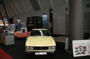 Mazda: Historische Mazda Modelle auf der Retro Classics in Stuttgart