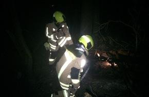 Feuerwehr Stolberg: FW-Stolberg: Flächenbrand  /  Technische Hilfeleistungen