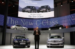Daimler AG: World premiere of the new Mercedes-Benz C-Class