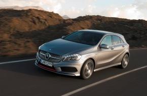 Mercedes-Benz Schweiz AG: Die neue A-Klasse - der Mercedes-Sportler unter den Kompakten