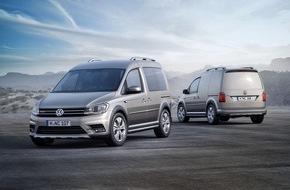 VW Volkswagen Nutzfahrzeuge AG: Volkswagen Nutzfahrzeuge - Pressemitteilung: Der neue Caddy - jetzt als Alltrack im Offroad-Look