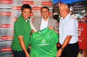 Werder Bremen GmbH & Co KG aA: Werder Bremen-Presseservice: SV Werder hat das perfekte Umfeld für das Trainingslager 2012 gefunden!