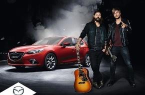 Mazda: Mazda startet mit Rea Garvey und Samu Haber in das Jahr 2015